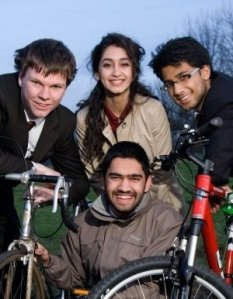 Gregory Yates, Sahar Rezazadeh, Pav Dhande and Mohammad Bilal. Members of the steering group.