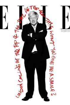 Boris - The sexy new coverboy for Elle magazine