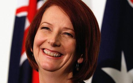julia gillard earlobes. today that Julia Gillard