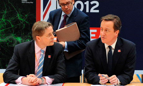 Sir Jeremy Heywood and David Cameron